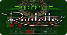 Online europees roulette